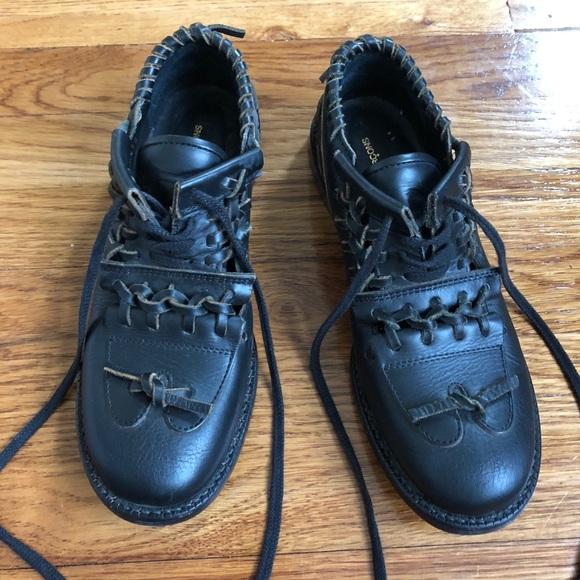 8487959170a3 Comme des Garcons Shoes - Comme des Garcons Japan Black leather Shoes